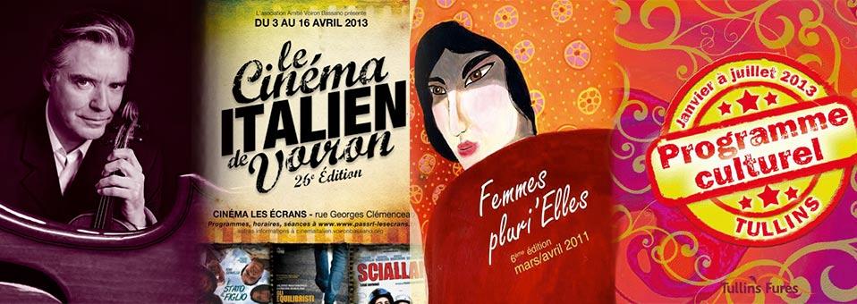 Programme Culturel Pays Voironnais mars & avril