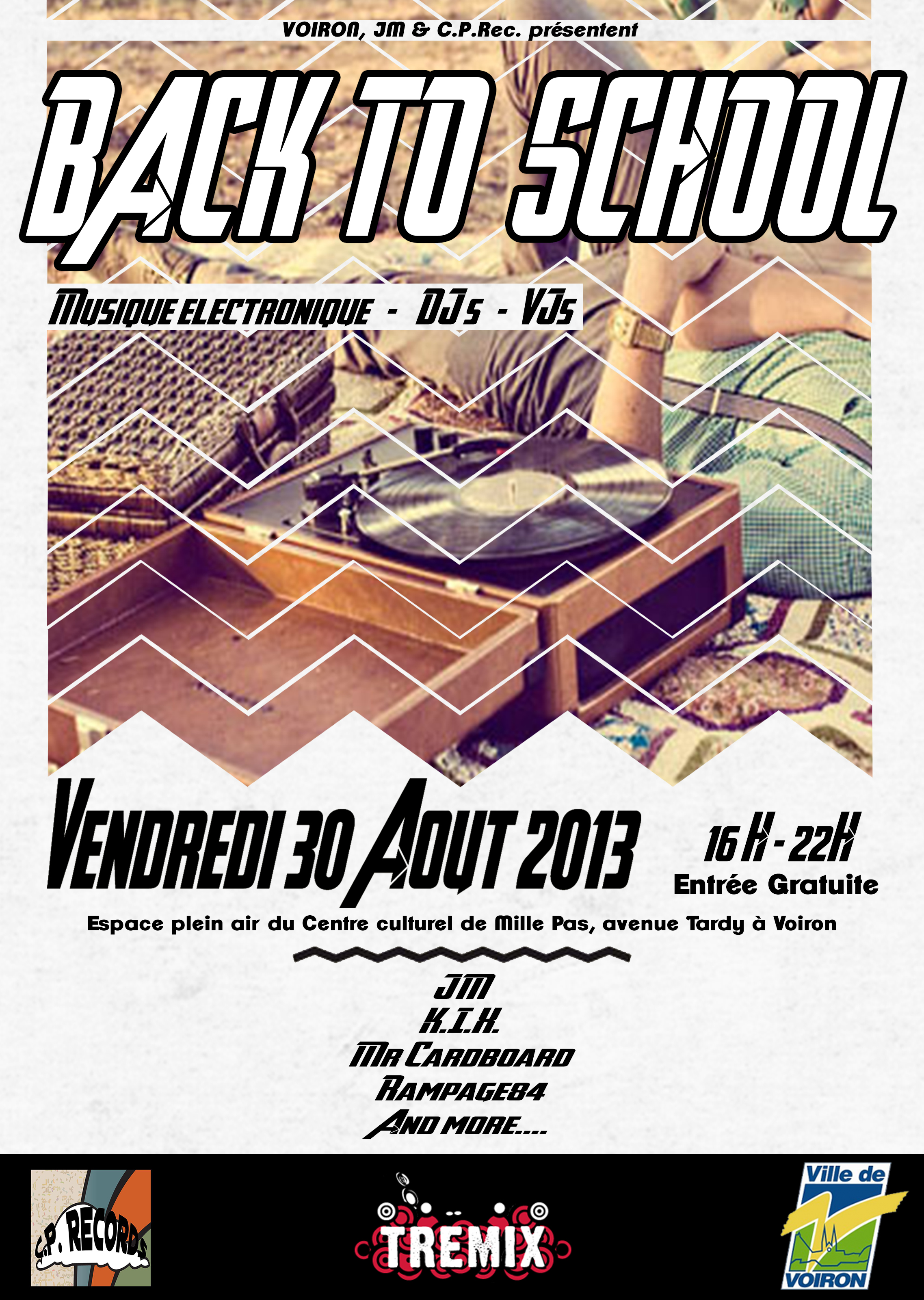 Back to school – Scène Electro