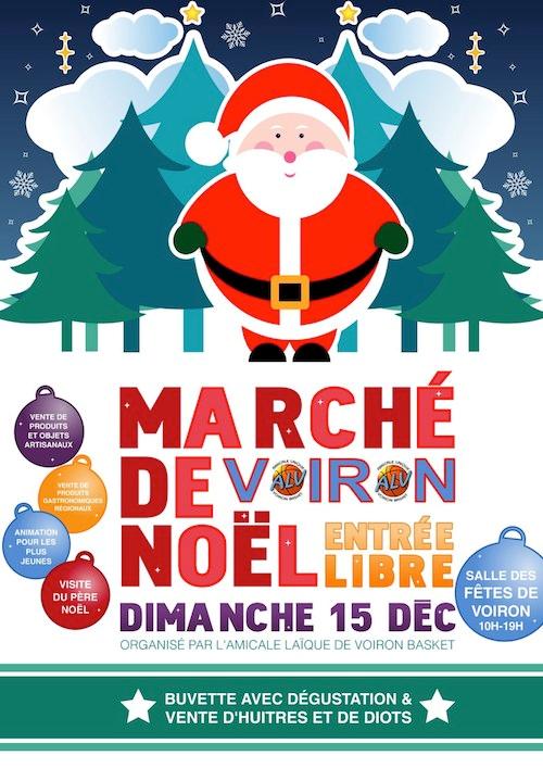 Marché de Noël à Voiron