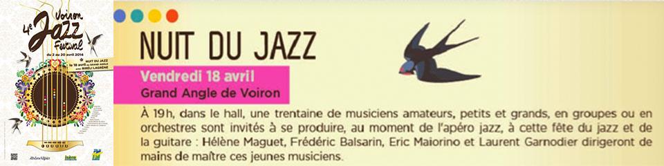 4ème nuit du jazz à Voiron