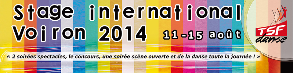 Stage international Voiron 2014 – TSF Danse