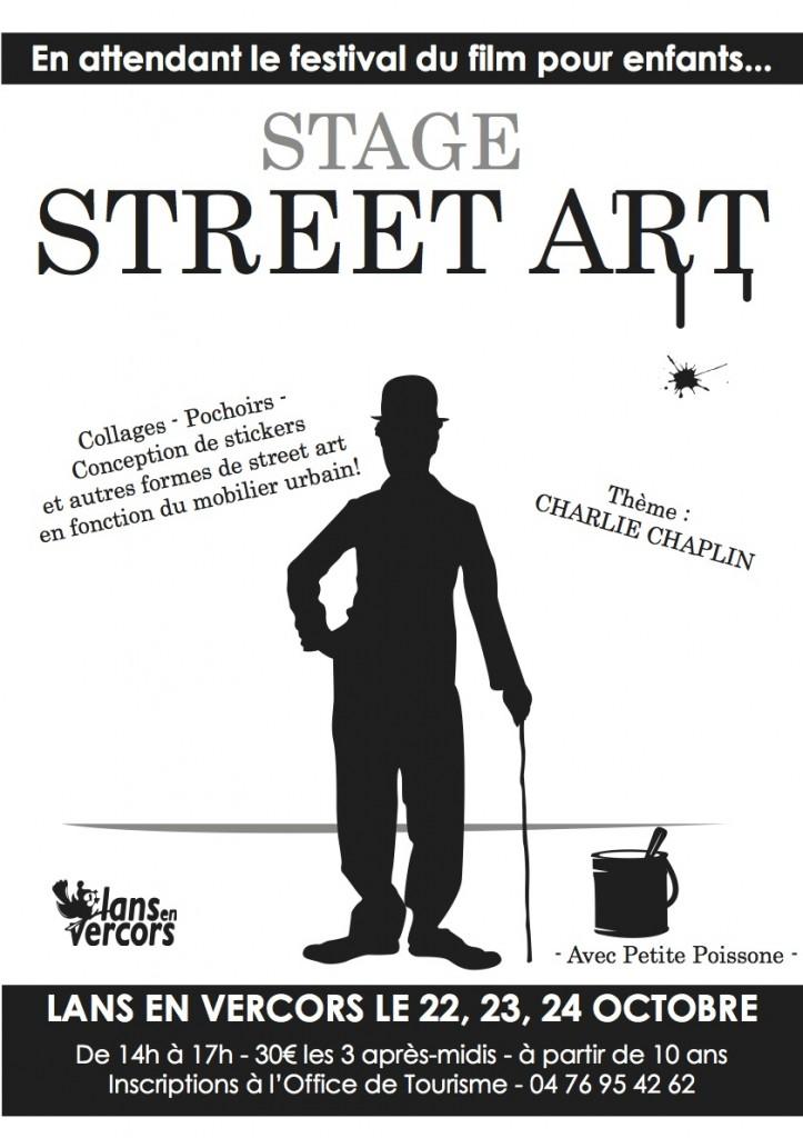 Street Art affiche