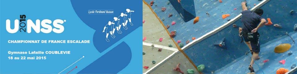 Championnats de France d'escalade UNSS