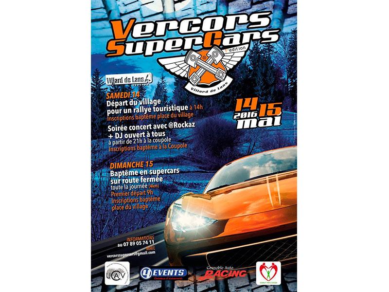 Vercors SuperCars première édition