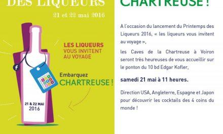 Embarquez Chartreuse !