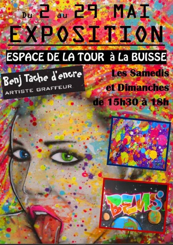 Exposition Benj Tache d'encre