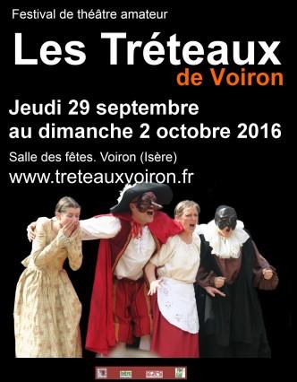 14ème festival de théâtre amateur (les Trétaux de Voiron)