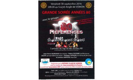 concert Années 80 au Grand Angle à Voiron