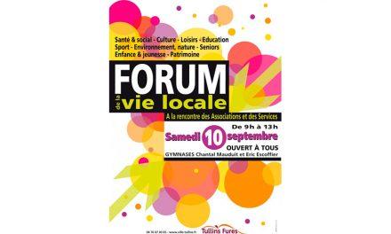 Forum de la vie locale à Tullins