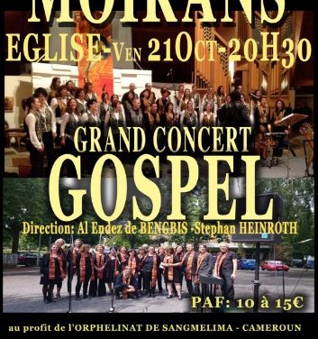 Grand Concert Gospel à Moirans