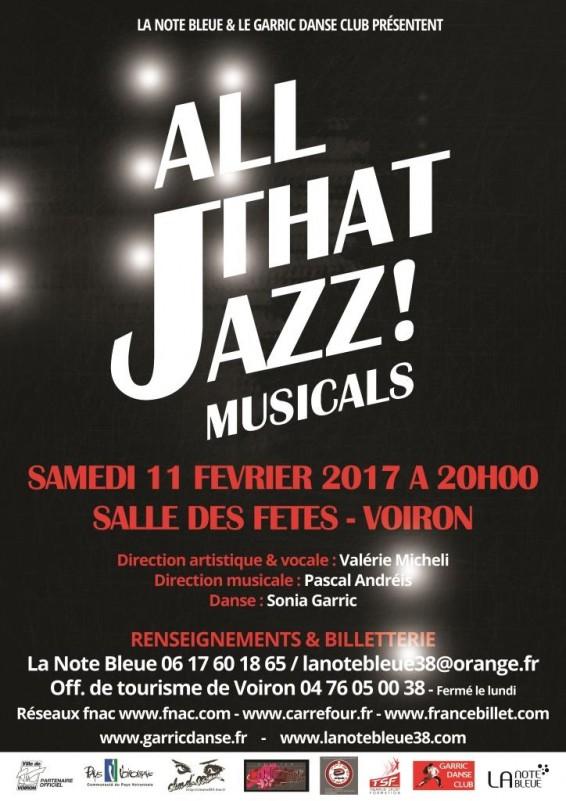 All That Jazz ! Musicals à Voiron