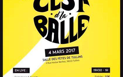 """C'est d'la balle """"soirée multiambiance"""" Tullins"""