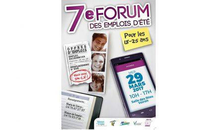 7ème forum emploi d'été 2017 à Voiron