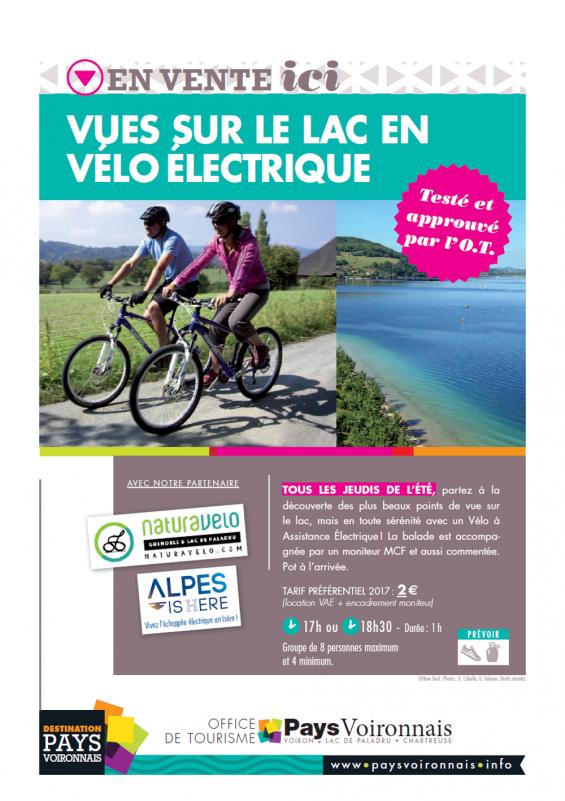 Balade accompagnée en Vélo Electrique