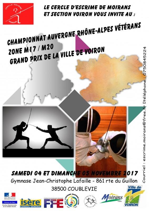 Championnat Régional d'Escrime à Moirans