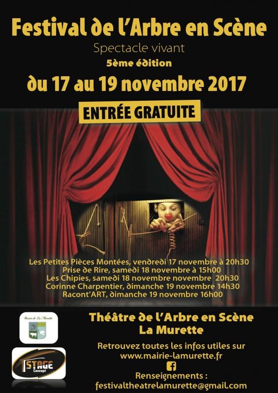 5ème Festival de l'Arbre en Scène à la Murette