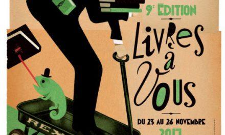 """9ème Festival """"Livres à vous !"""" à Voiron"""
