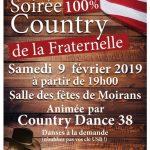 """Soirée """"100 % Country"""" à Moirans"""